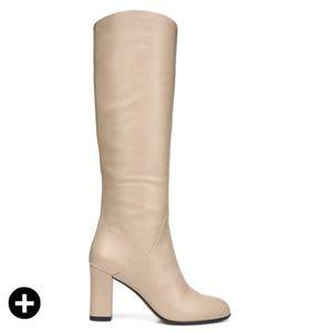 NEW! 2018 VIA SPIGA soho beige boots Sz 8.5 $495